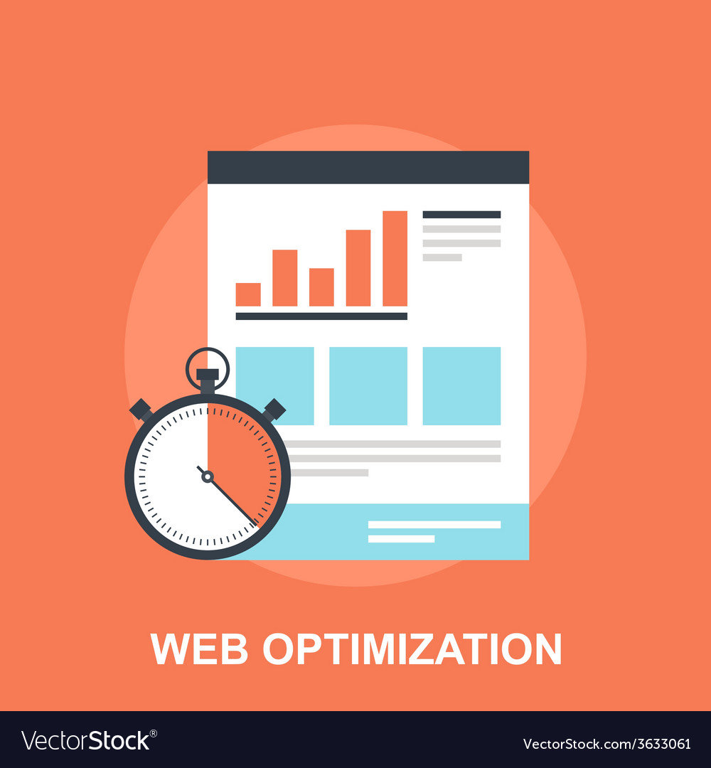 Web optimization vector | Price: 1 Credit (USD $1)