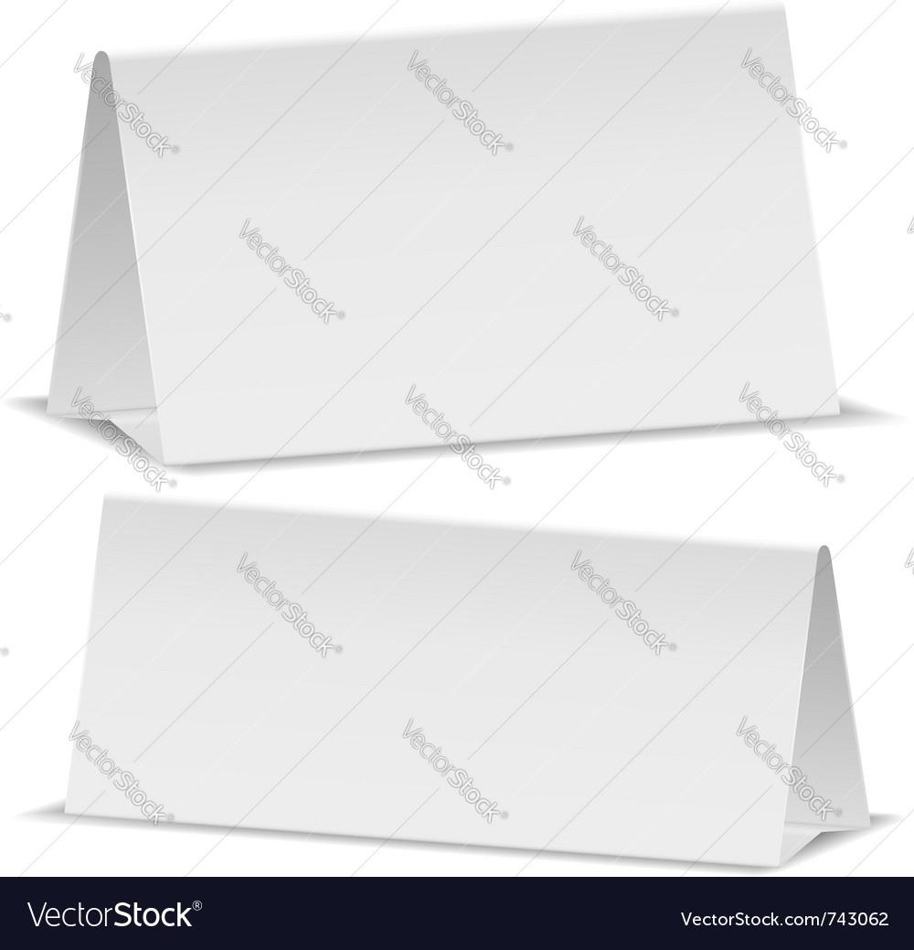 Blank desktop calendar vector | Price: 1 Credit (USD $1)