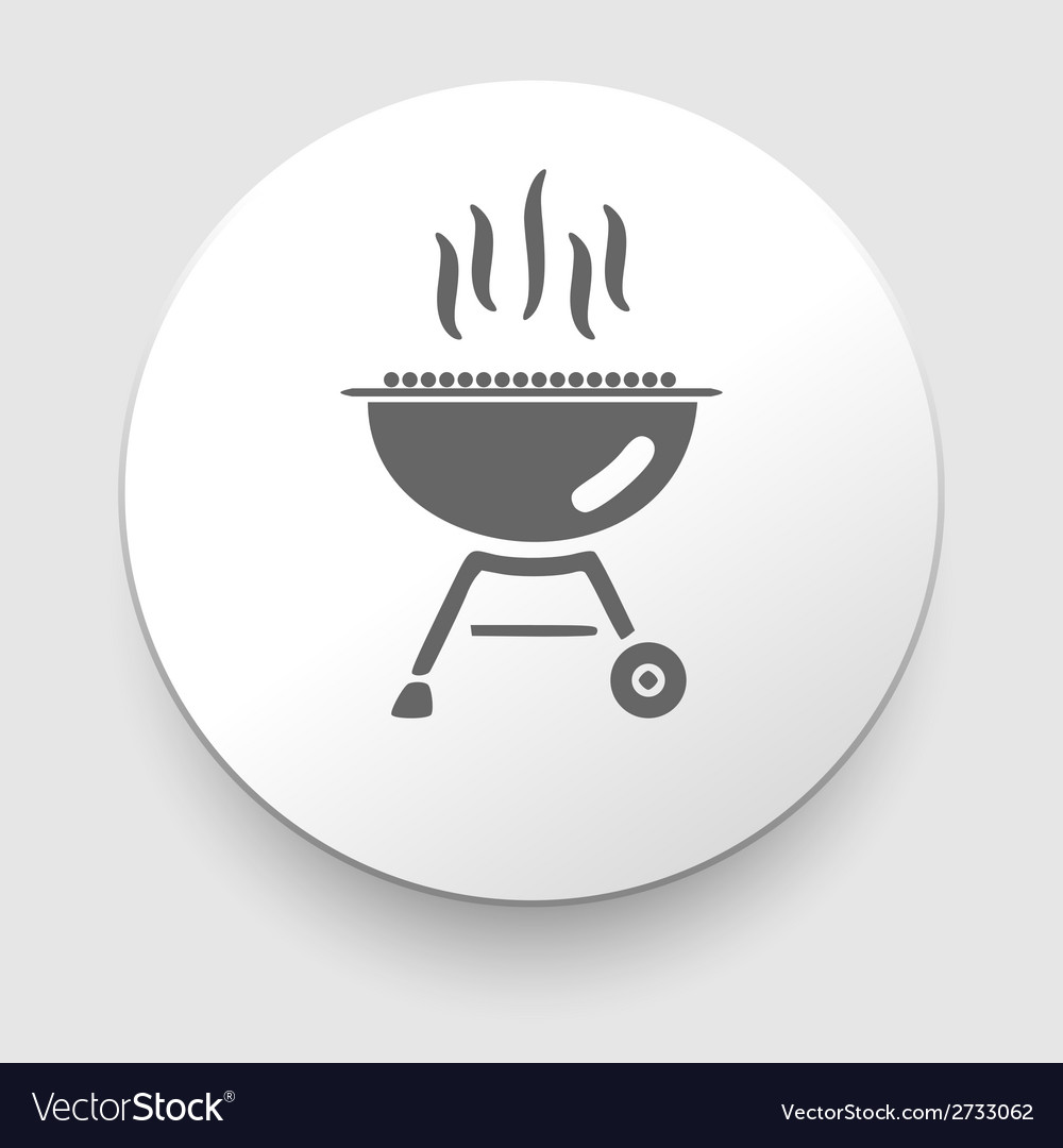 Grill and barbeque related icon vector | Price: 1 Credit (USD $1)