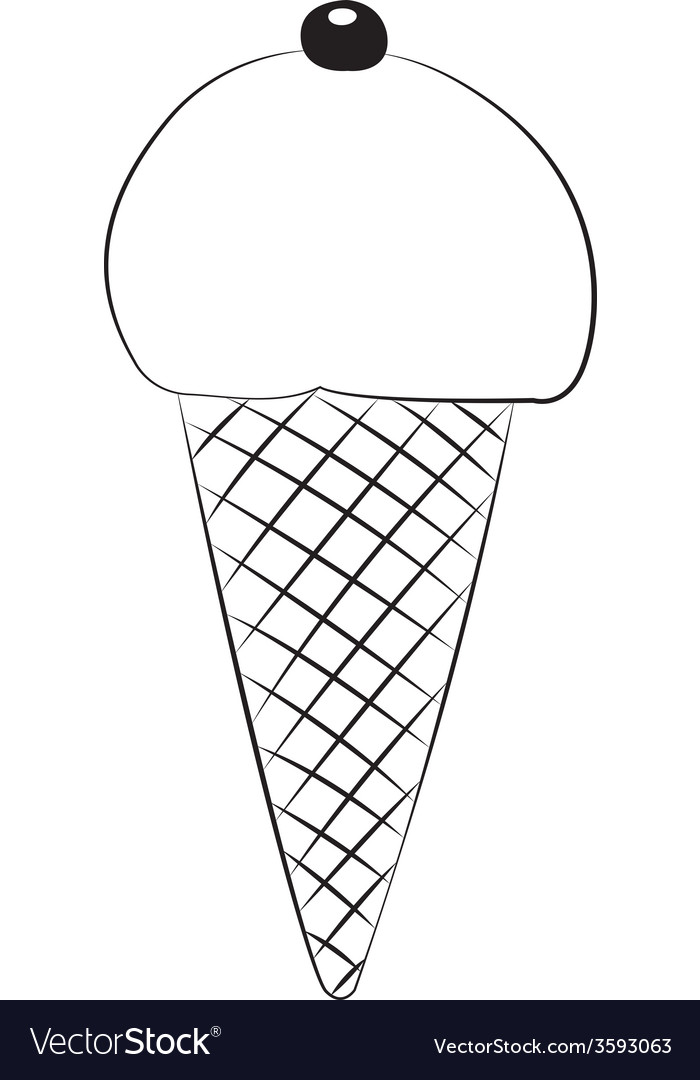 Ice cream01 vector | Price: 1 Credit (USD $1)