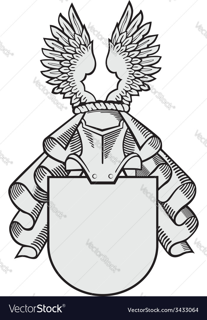 Aristocratic emblem no33 vector | Price: 1 Credit (USD $1)