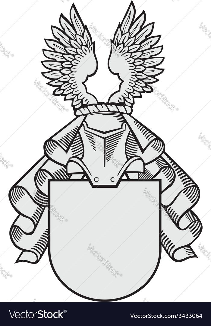 Aristocratic emblem no33 vector | Price: 1 Credit (USD $1)