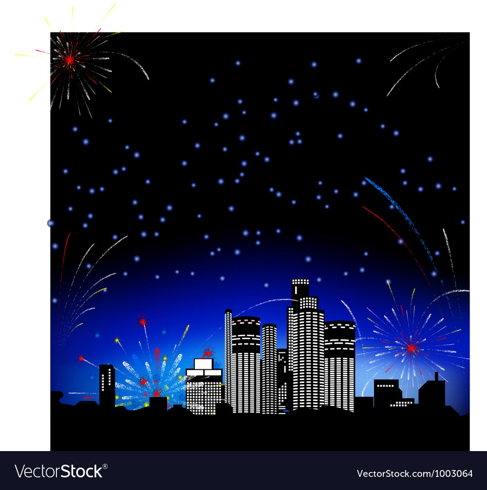 Firework2 10 vector | Price: 1 Credit (USD $1)
