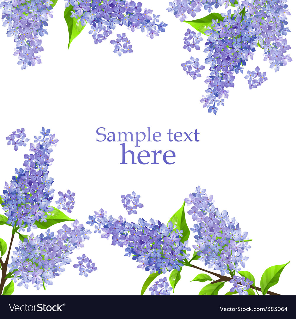 Lilac background vector | Price: 1 Credit (USD $1)