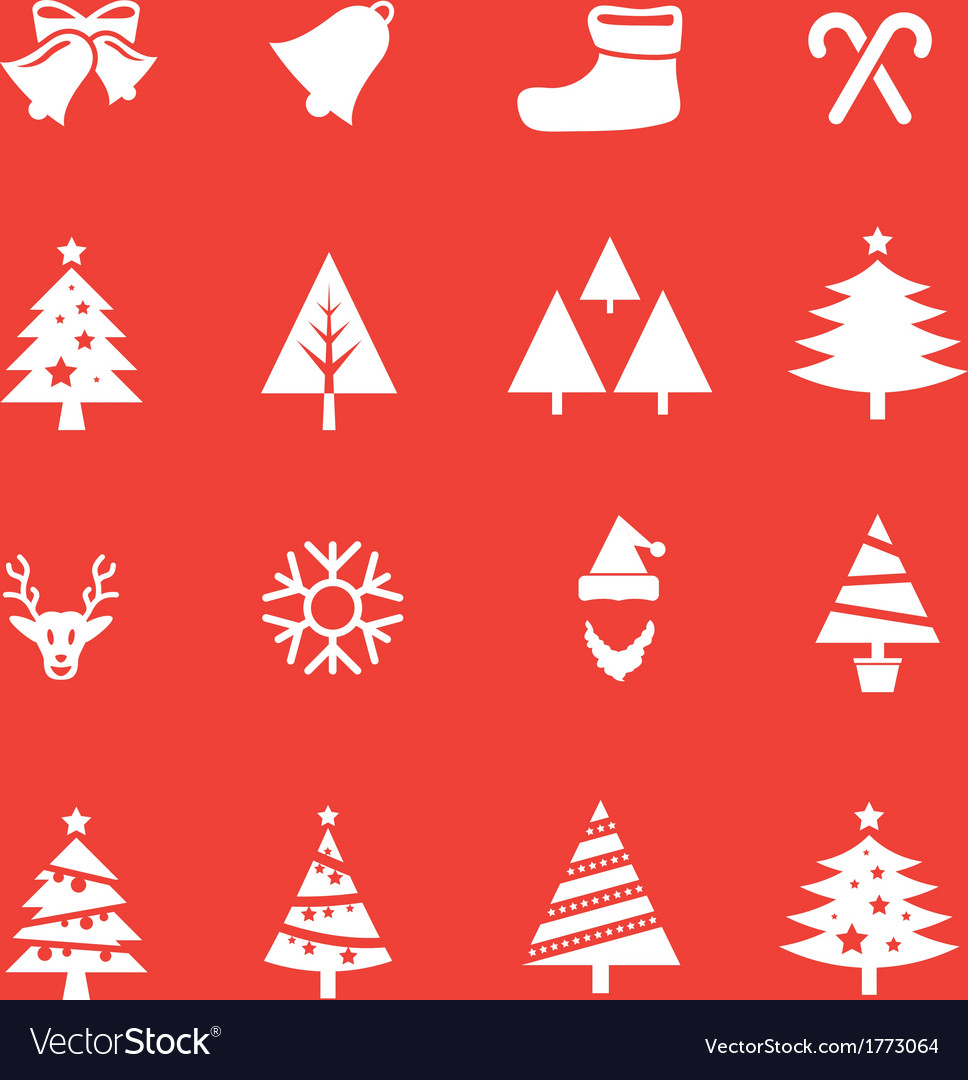Set of christmas icon vol 1 vector | Price: 1 Credit (USD $1)