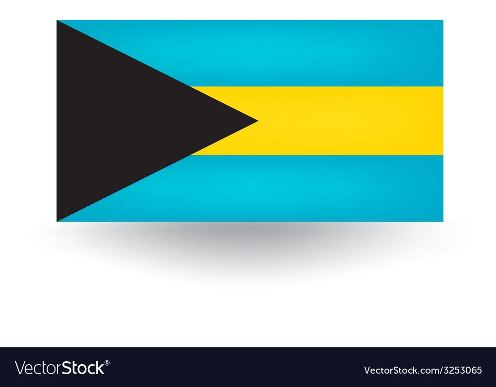 Bahamas flag vector | Price: 1 Credit (USD $1)