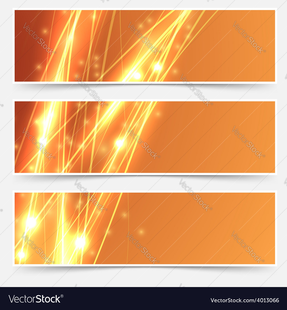 Bright swoosh speed line abstract header set vector | Price: 1 Credit (USD $1)