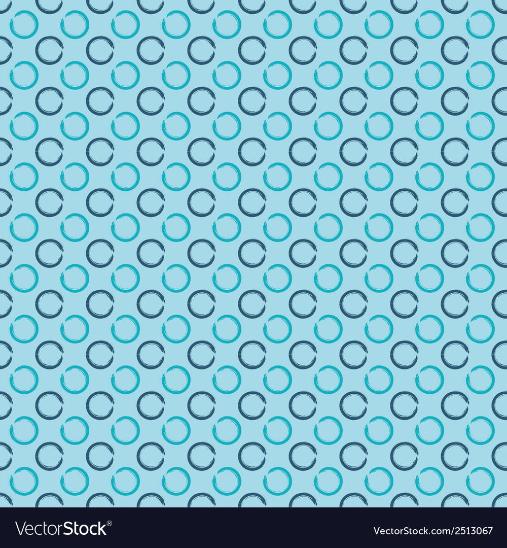 Abstract seamless background with grunge circles vector | Price: 1 Credit (USD $1)