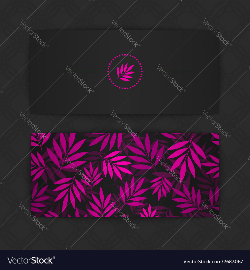 Colorful business cards vector | Price: 1 Credit (USD $1)