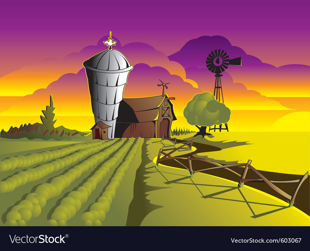 Farm vector | Price: 3 Credit (USD $3)
