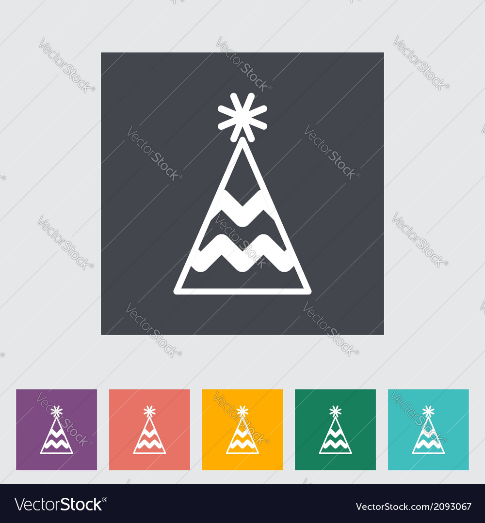 Holiday cap vector | Price: 1 Credit (USD $1)