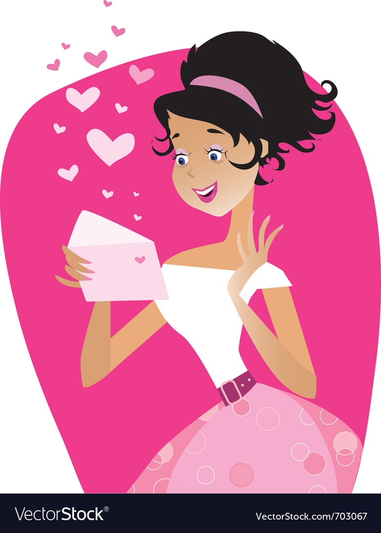 Love letter vector | Price: 3 Credit (USD $3)