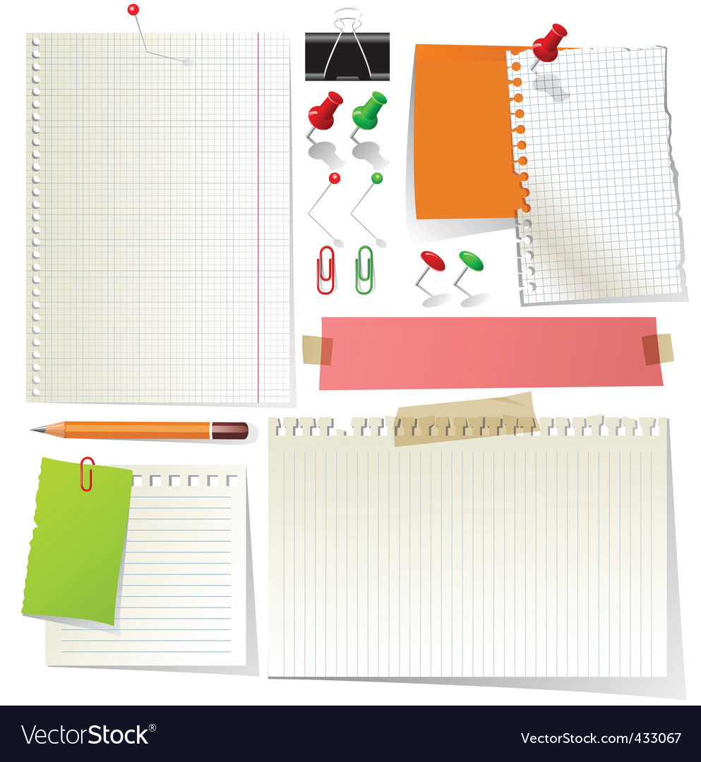 Stationery vector | Price: 1 Credit (USD $1)