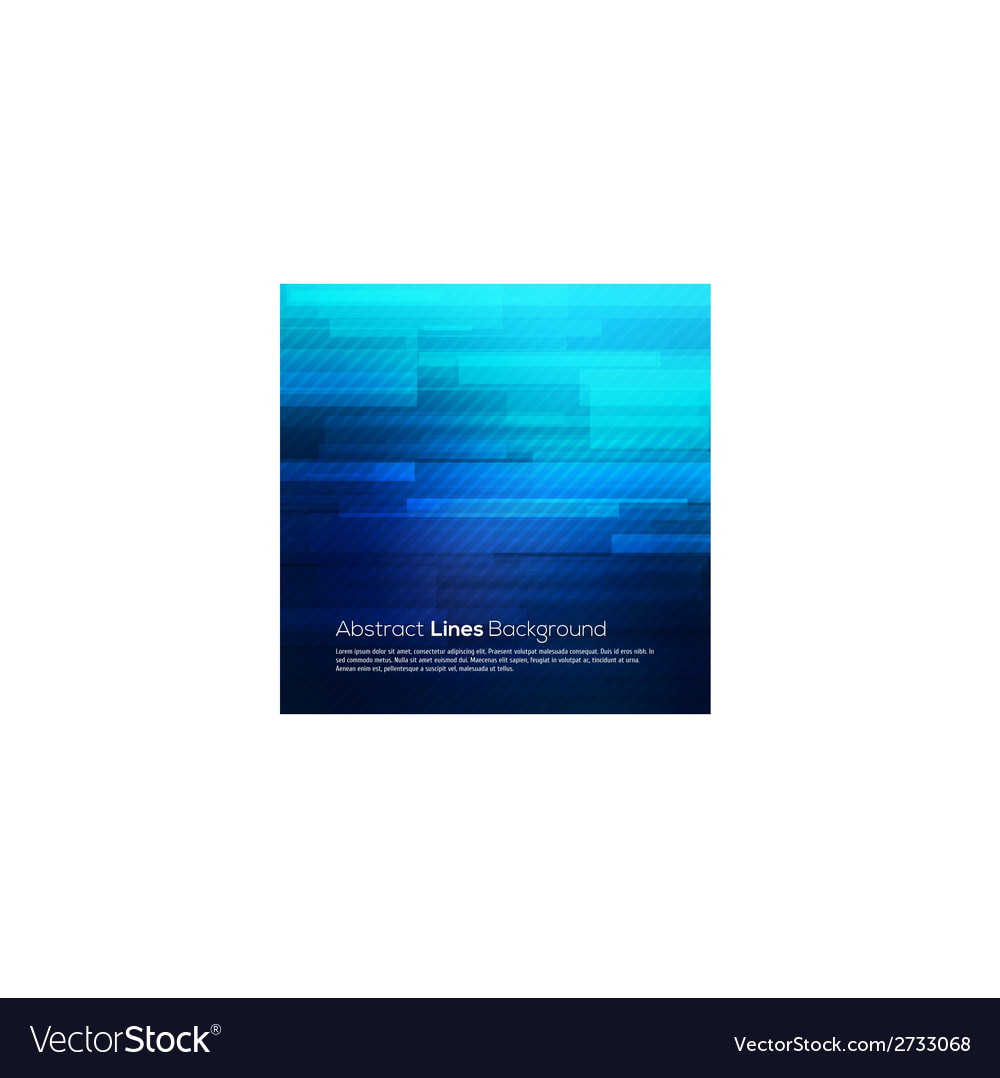 Blue abstract lines business background vector | Price: 1 Credit (USD $1)