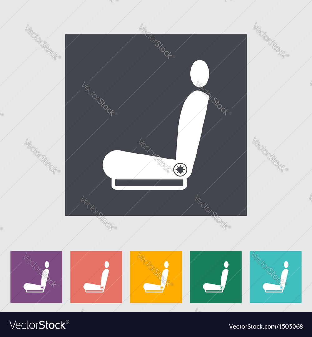 Car seat vector | Price: 1 Credit (USD $1)