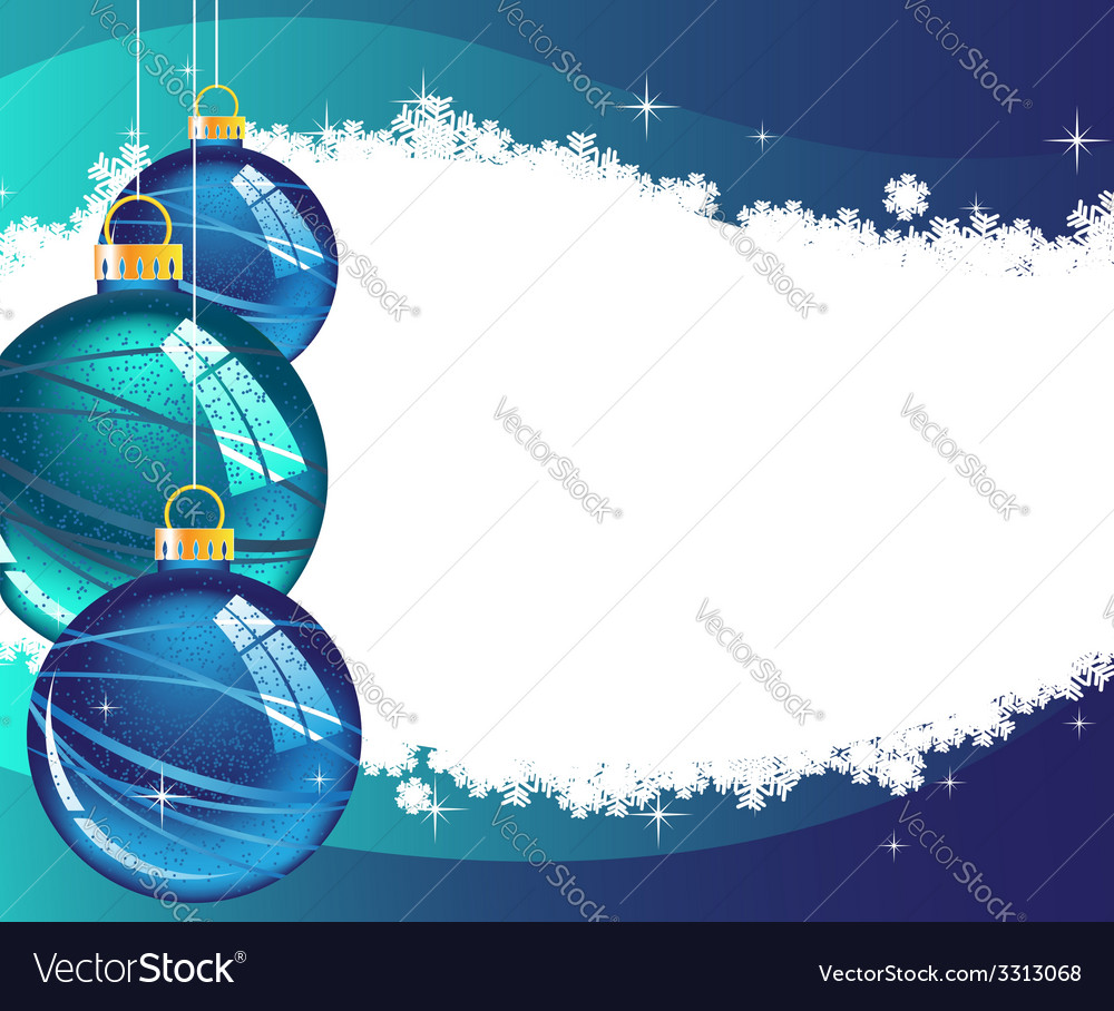 Christmas wavy glowing background vector | Price: 1 Credit (USD $1)