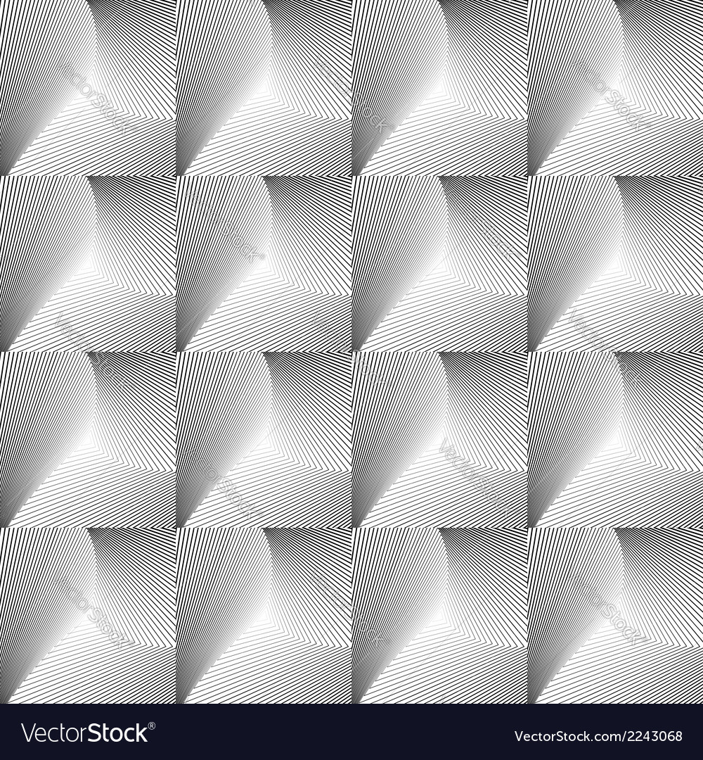 Design seamless square geometric pattern vector | Price: 1 Credit (USD $1)