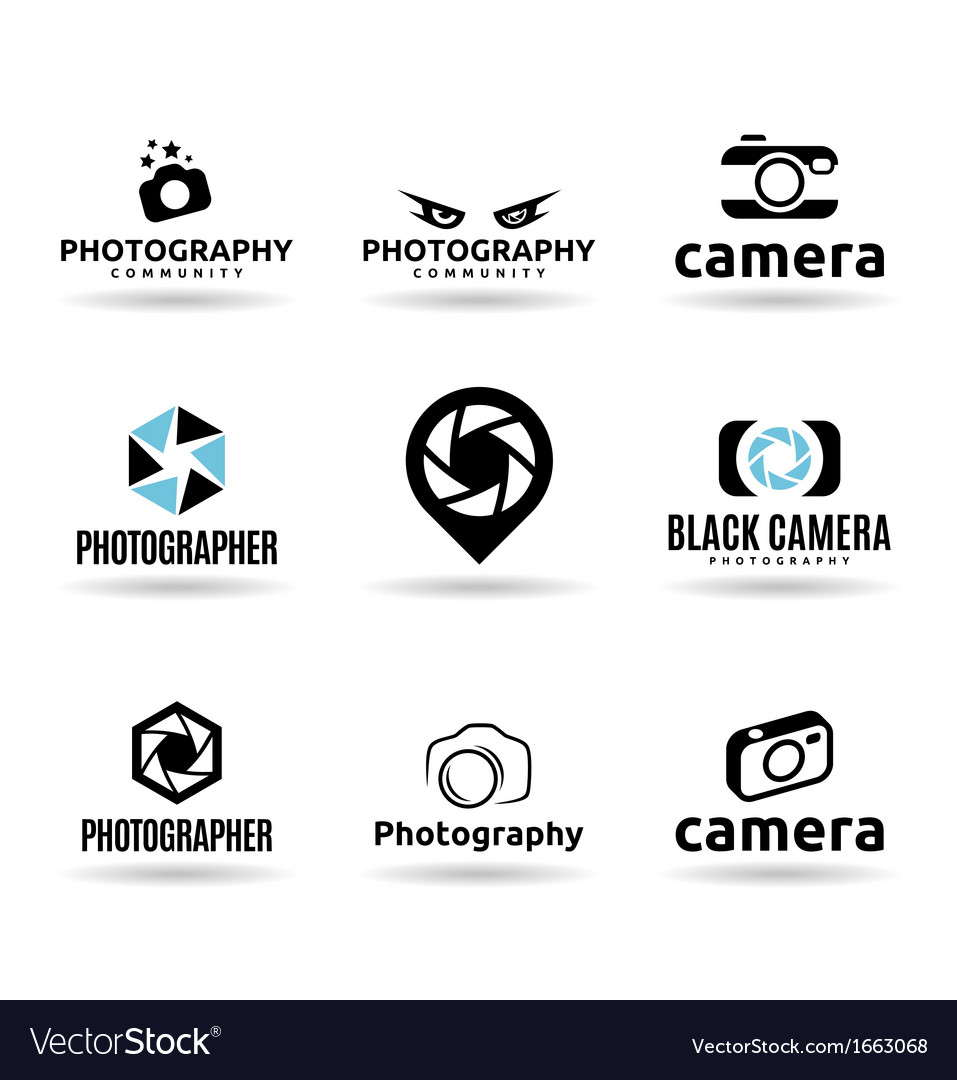 Icons for photographers vector | Price: 1 Credit (USD $1)