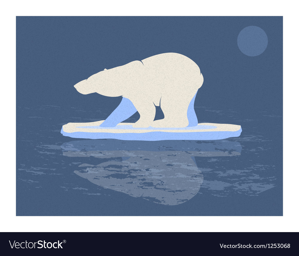 Polar bear vector | Price: 1 Credit (USD $1)