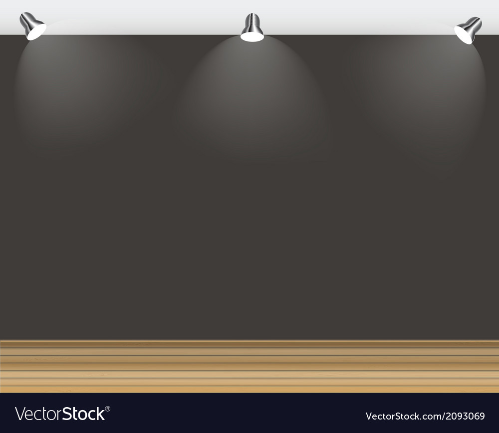 Empty wall for your text and images vector | Price: 1 Credit (USD $1)