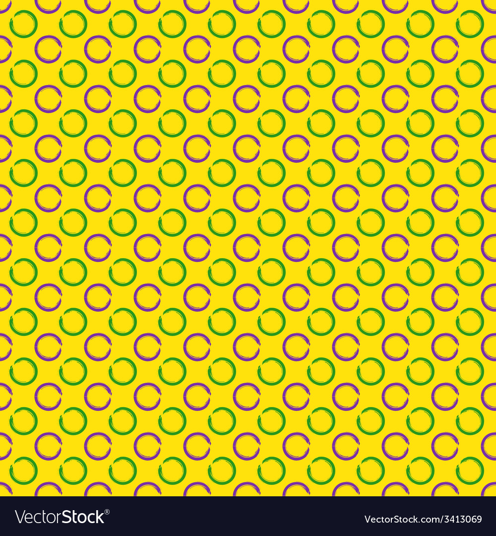 Mardi gras seamless pattern vector | Price: 1 Credit (USD $1)