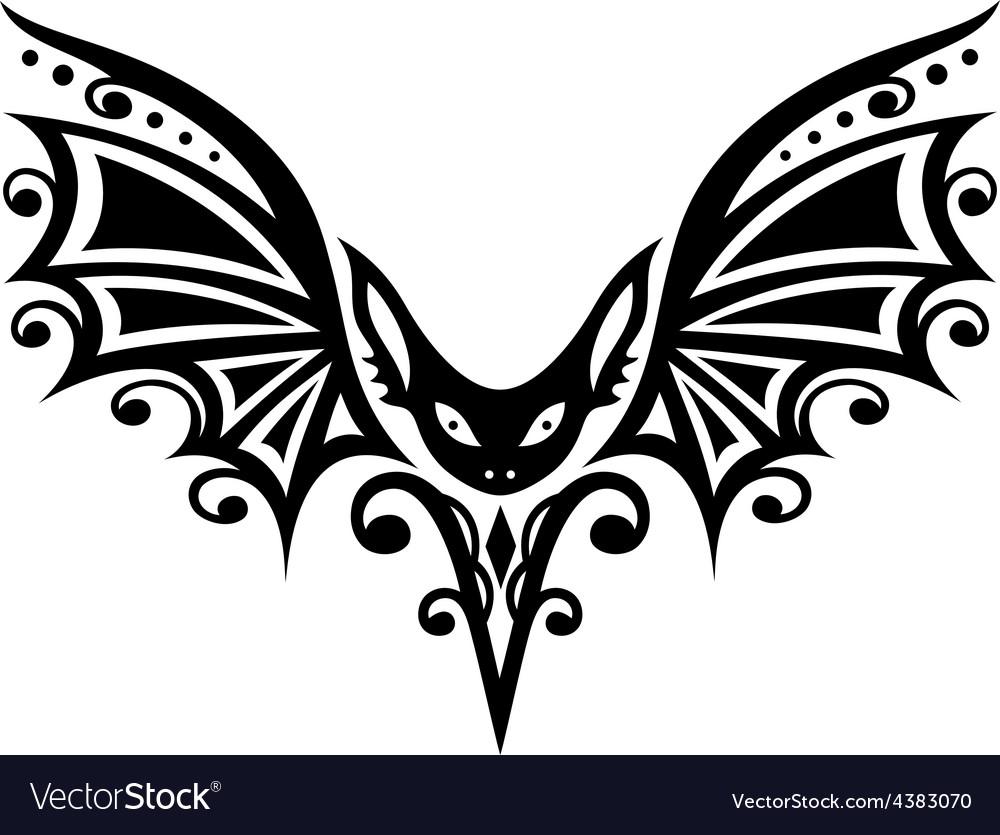 Bat halloween vector | Price: 1 Credit (USD $1)