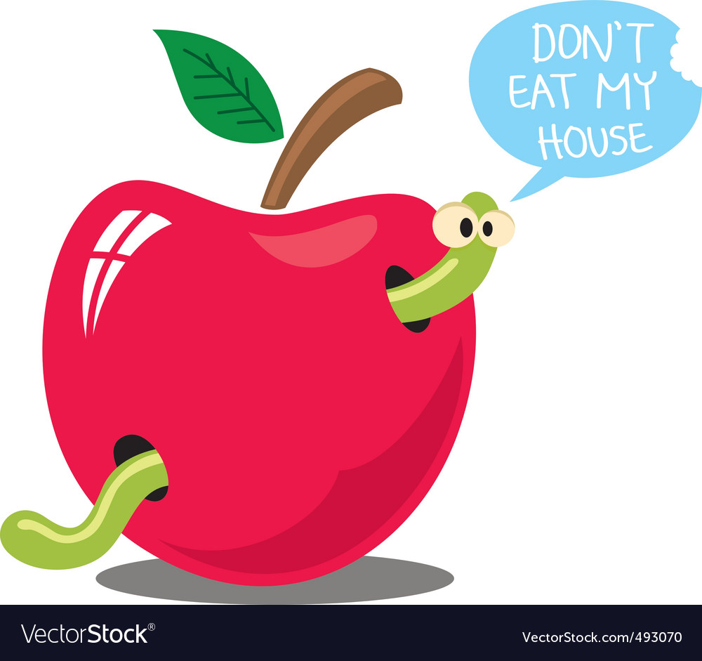 Dont eat my house vector