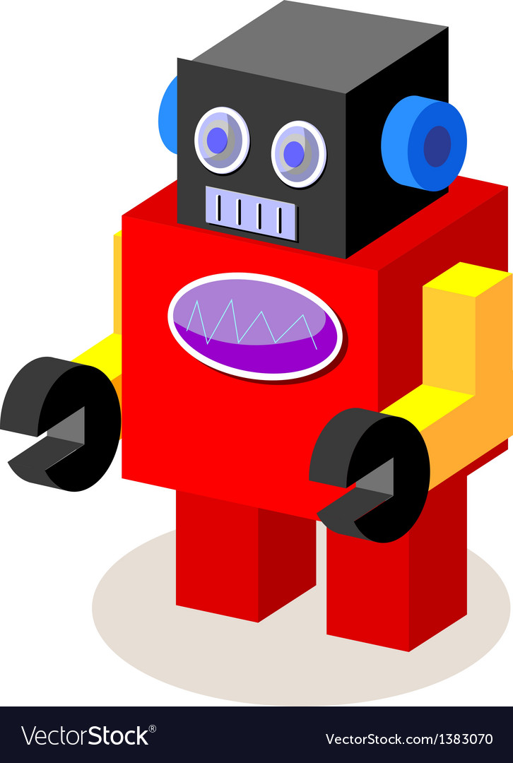 Icon robot vector | Price: 1 Credit (USD $1)