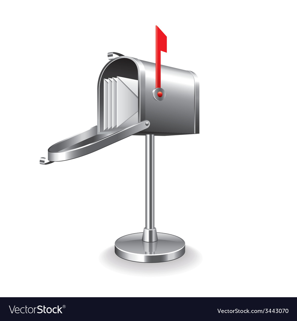 Mail box isolated vector | Price: 1 Credit (USD $1)