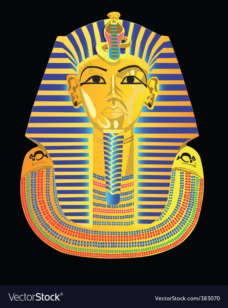Pharaoh's mask vector | Price: 1 Credit (USD $1)