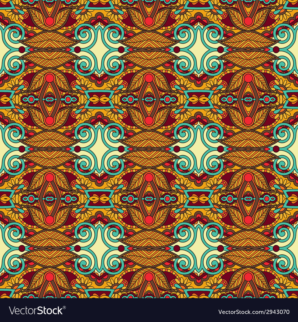 Seamless geometry vintage pattern ethnic style vector   Price: 1 Credit (USD $1)