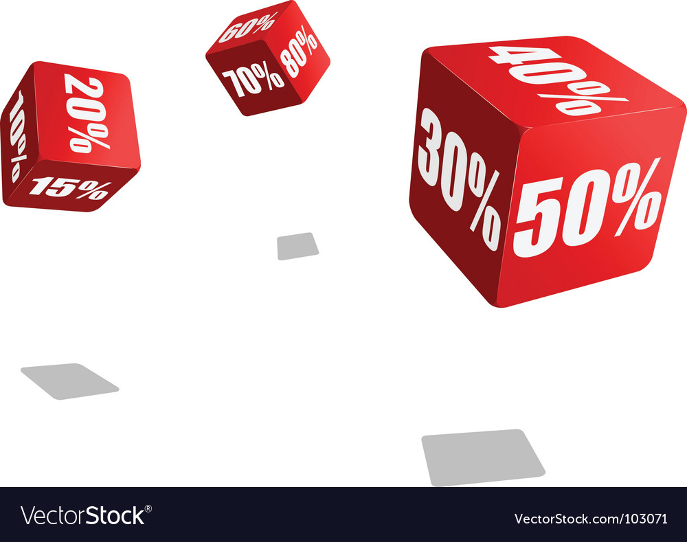 Discount vector | Price: 1 Credit (USD $1)