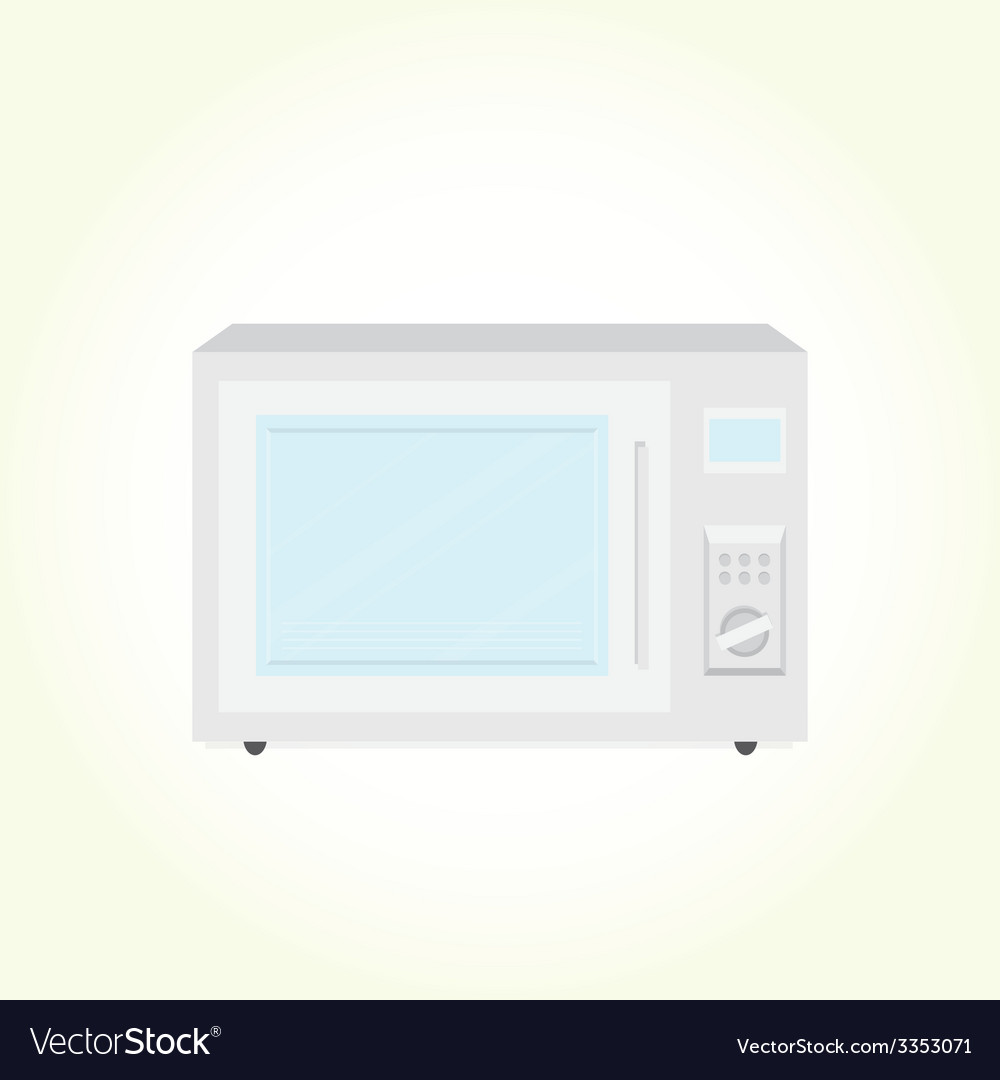 Microwave oven vector | Price: 1 Credit (USD $1)
