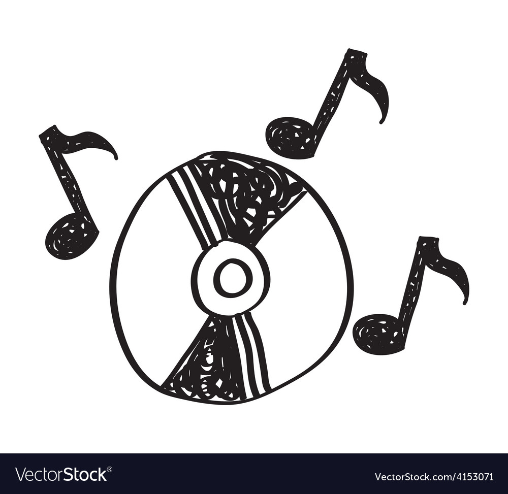 Music drawing vector | Price: 1 Credit (USD $1)