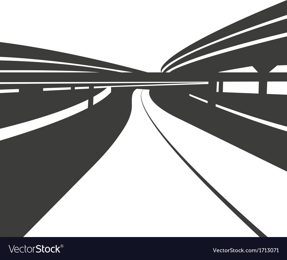 Road abstract background vector | Price: 1 Credit (USD $1)
