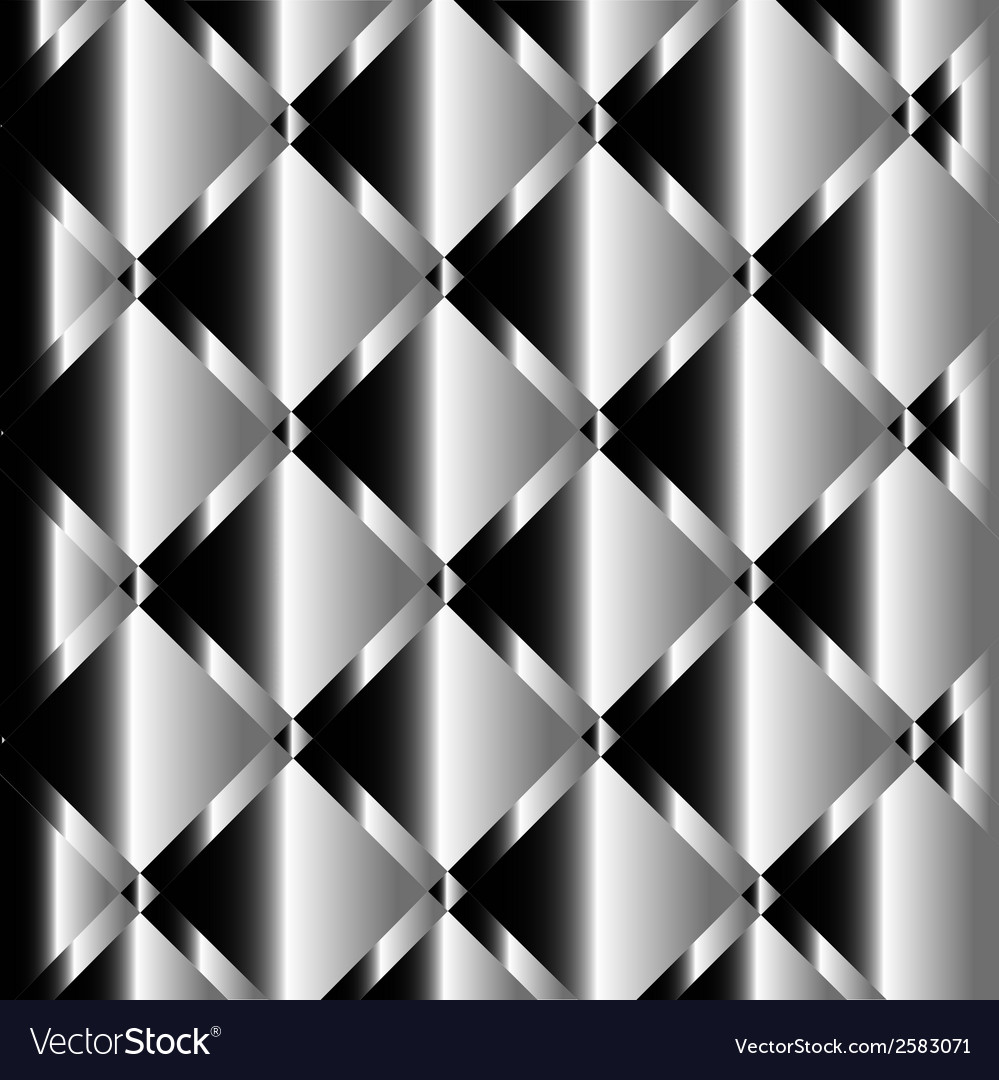 Silver background of metal texture vector | Price: 1 Credit (USD $1)