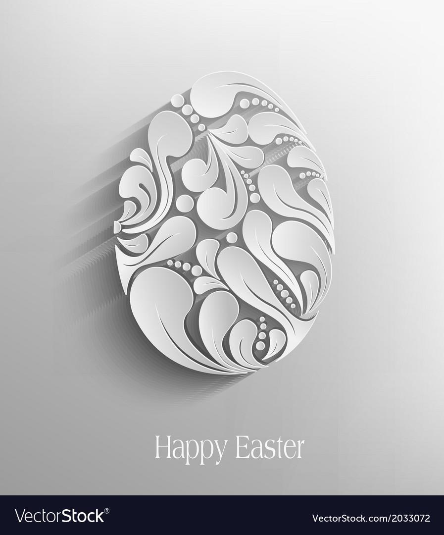 Easter egg handmade vector | Price: 1 Credit (USD $1)