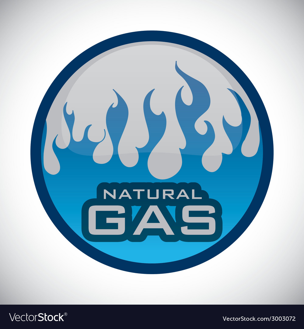 Gas natural design vector | Price: 1 Credit (USD $1)