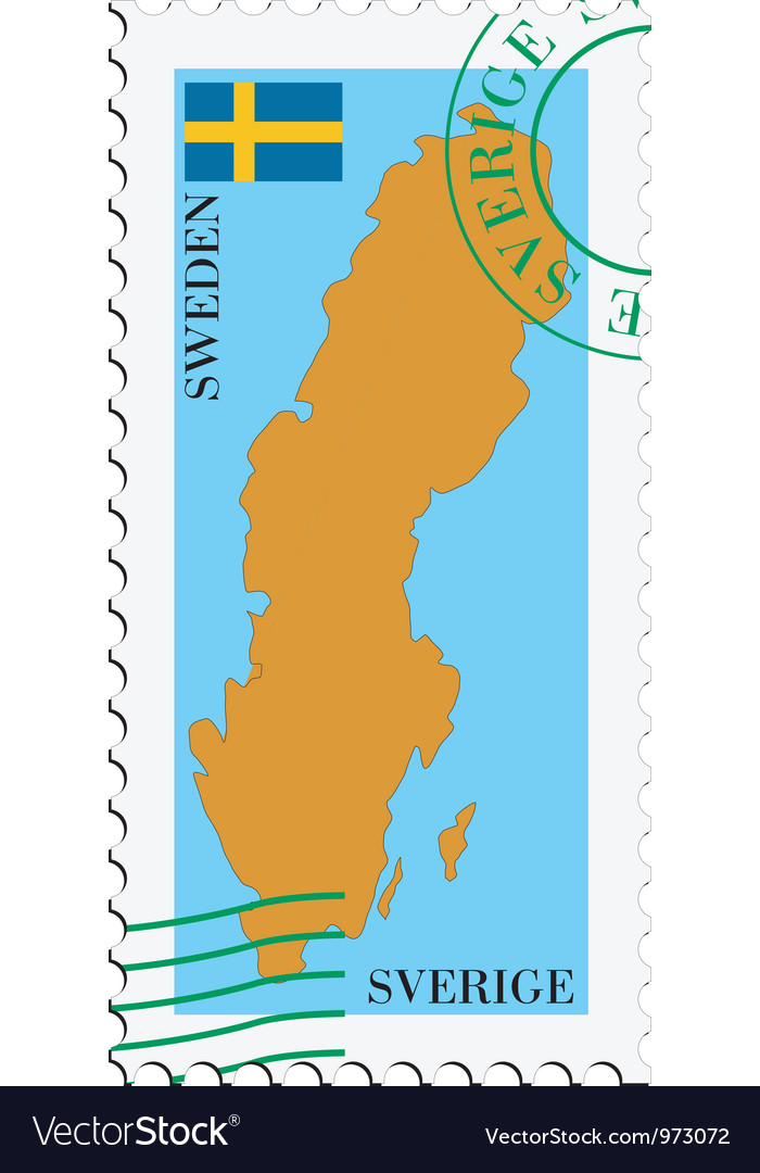 Mail to-from sweden vector | Price: 1 Credit (USD $1)