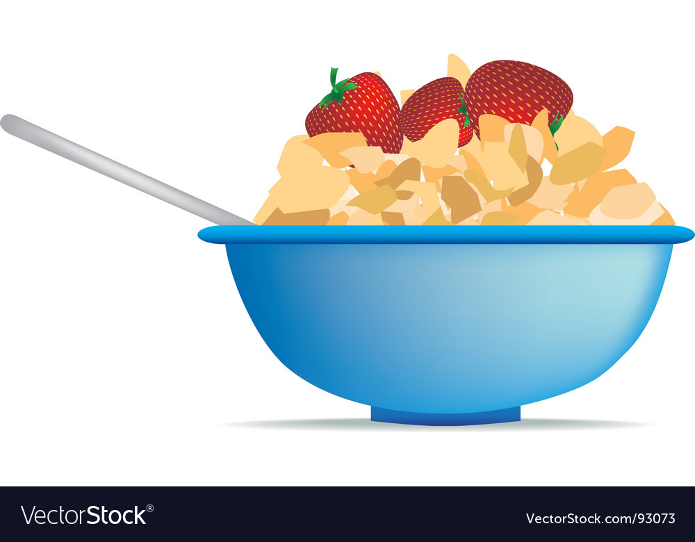 Cornflakes vector | Price: 1 Credit (USD $1)