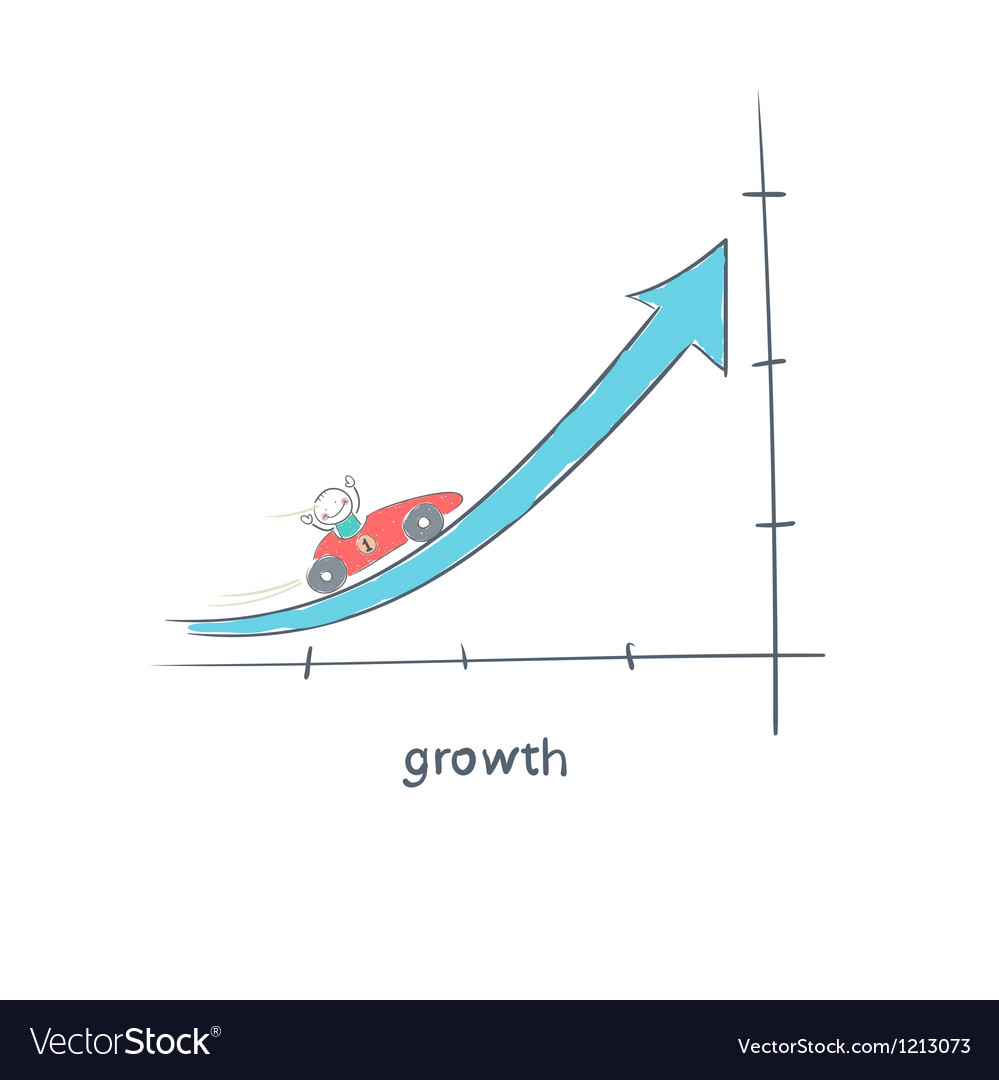 Growth vector | Price: 1 Credit (USD $1)