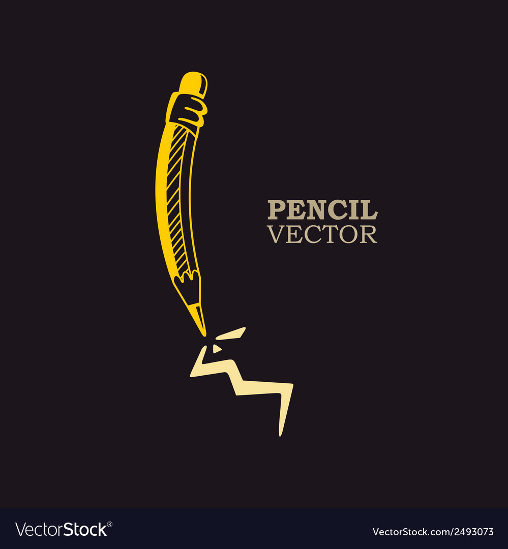 Pencil vector | Price: 1 Credit (USD $1)