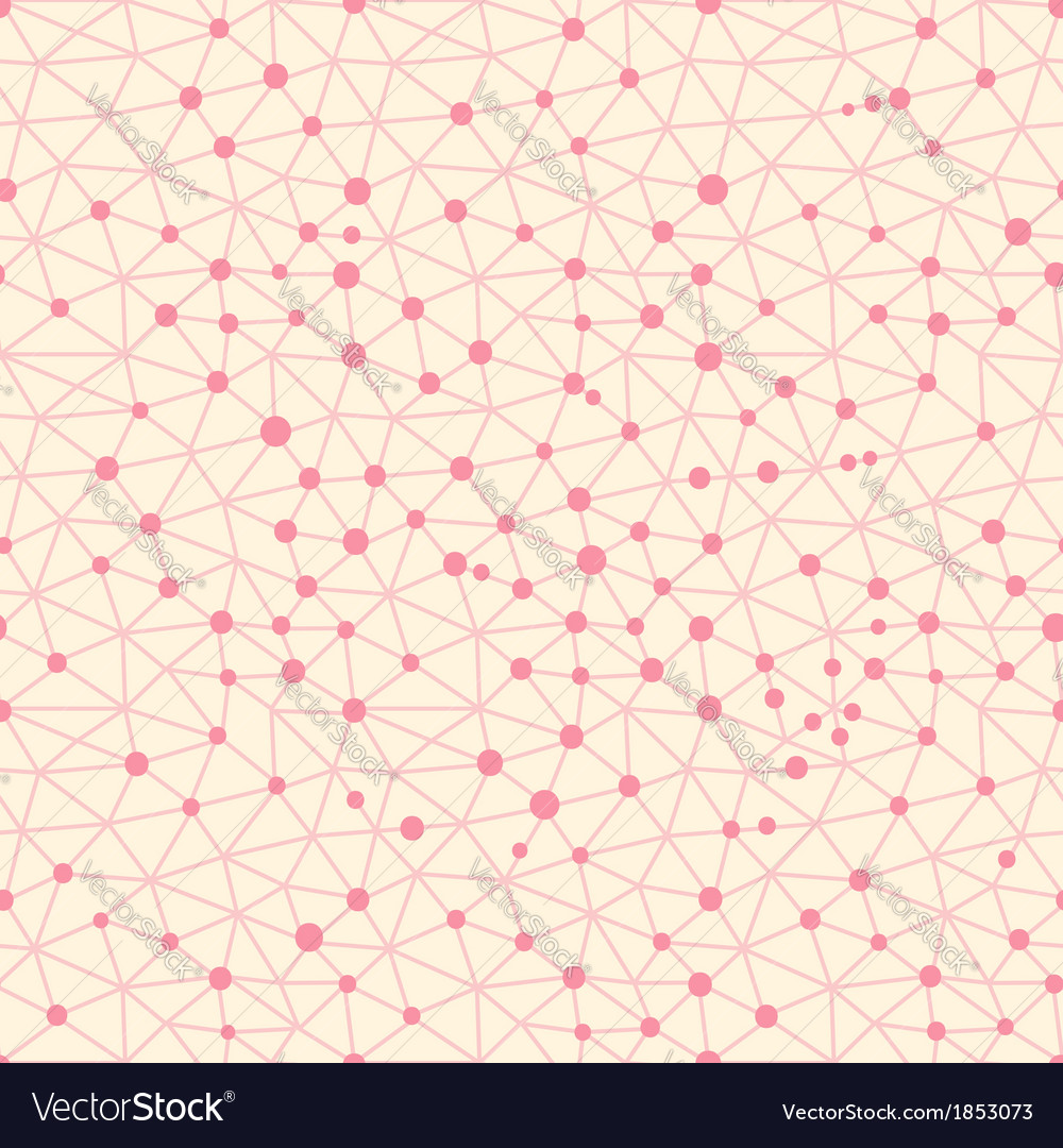 Seamless pattern crystal lattice vector | Price: 1 Credit (USD $1)