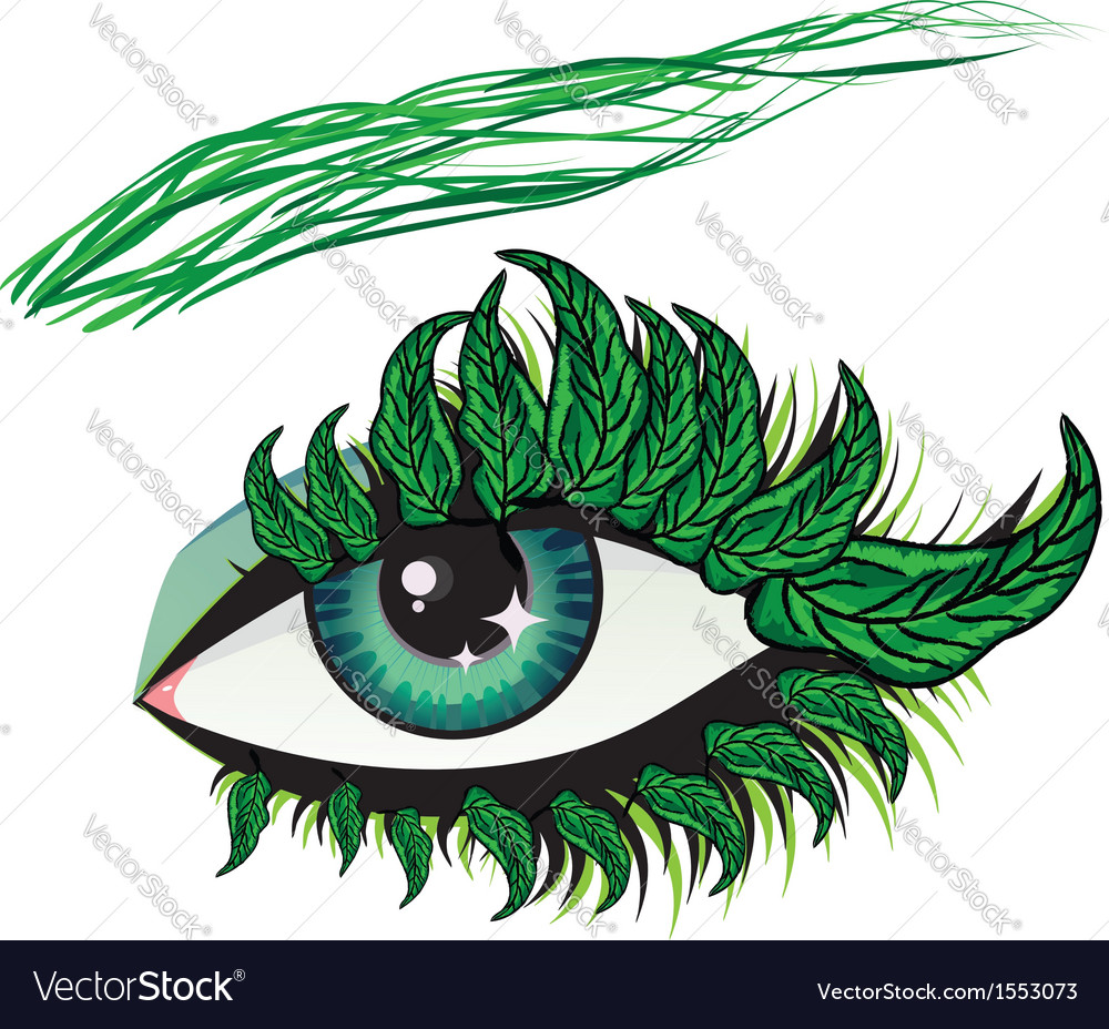 Spring eye vector | Price: 1 Credit (USD $1)
