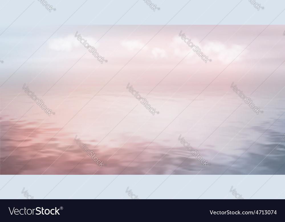 Sea ocean background vector | Price: 1 Credit (USD $1)