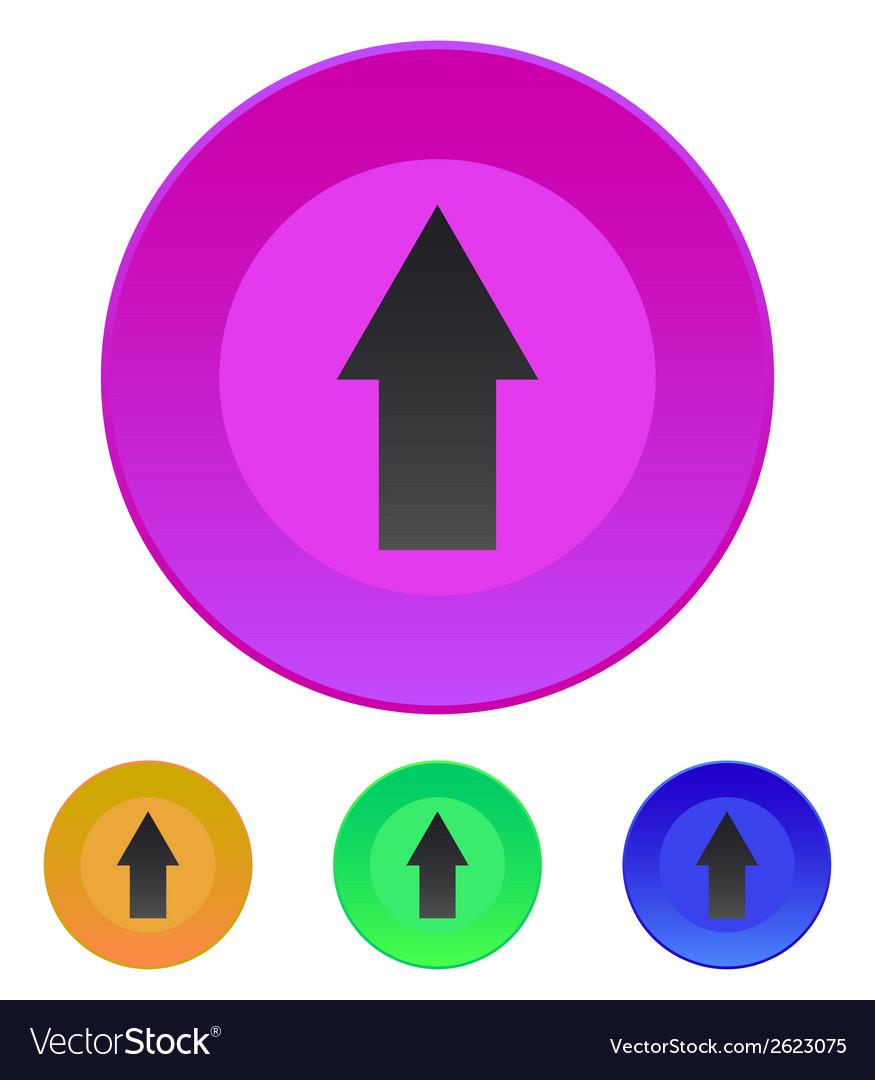 Arrow up icon vector   Price: 1 Credit (USD $1)