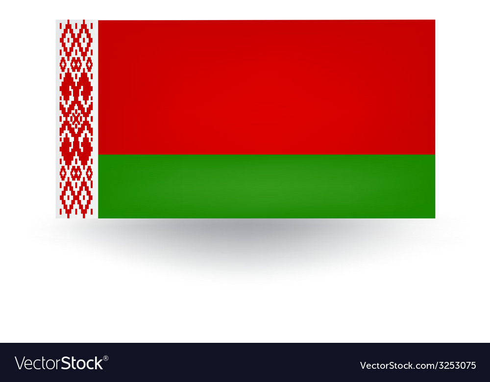Belarus flag vector | Price: 1 Credit (USD $1)