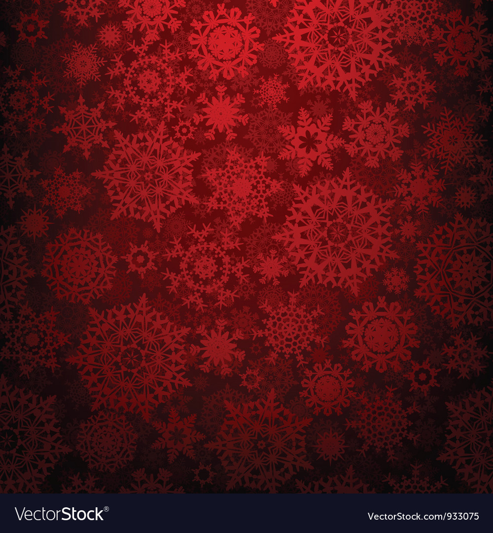 Christmas snowflakes texture background vector | Price: 1 Credit (USD $1)