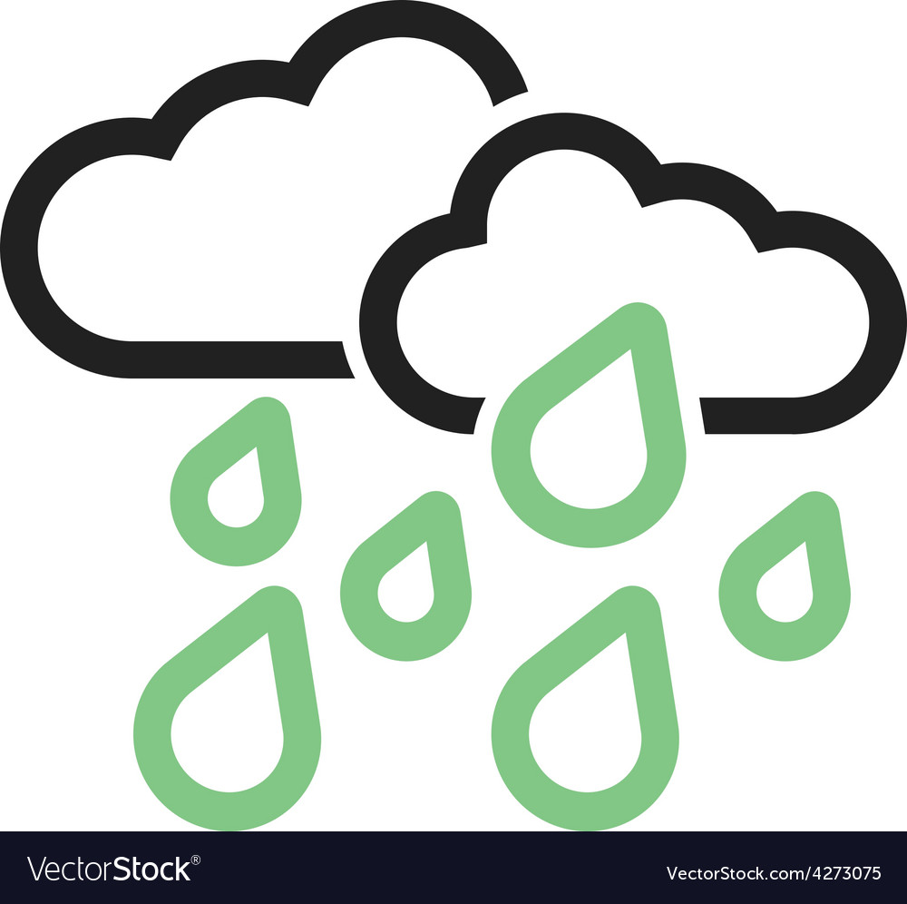 Heavy rain vector | Price: 1 Credit (USD $1)