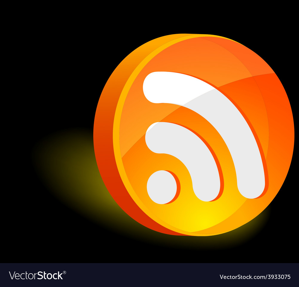 Rss icon vector   Price: 1 Credit (USD $1)